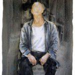 Yves Coladon, autoportrait