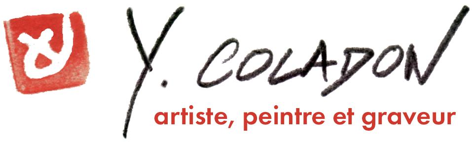 Yves Coladon artiste peintre et graveur. Boutique en ligne !