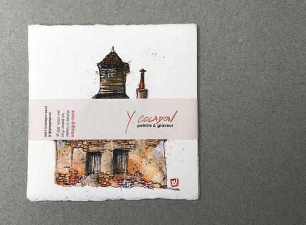 Yves Coladon artiste peintre graveur, Leporello architecture de France