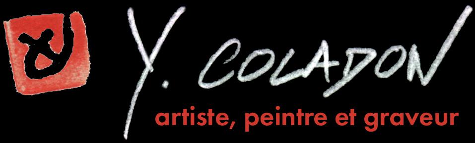 Yves Coladon artiste, boutique en ligne