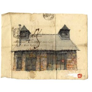 Maison N°5, Yves Coladon artiste peintre graveur