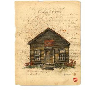 Maison N°6, Yves Coladon artiste peintre graveur
