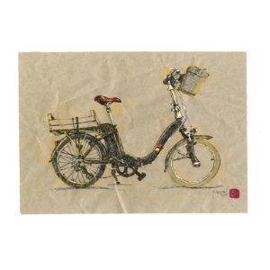 Bicyclette-4-Yves-Coladon-Artiste-Dieulefit
