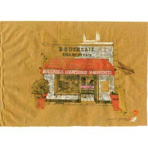 boucherie-Marguerite-Yves-Coladon-Artiste-Dieulefit-Drome