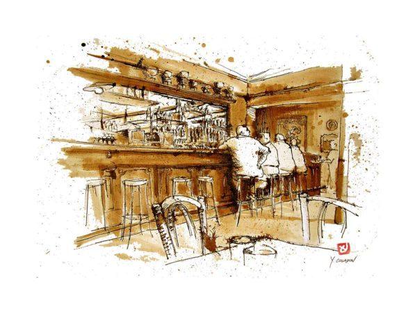 bar-de-la-place-Yves-Coladon-Artiste-Dieulefit-Drome