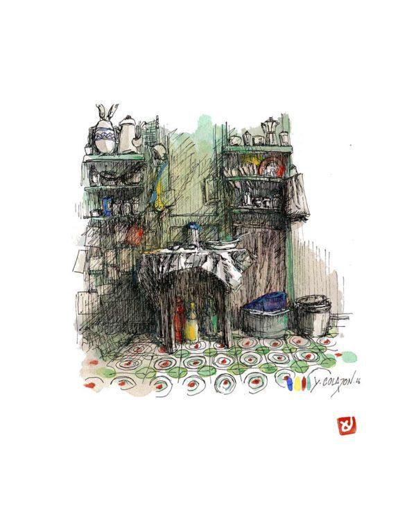 Cuisine-Verte-Yves-Coladon-Artiste-Dieulefit-Drome